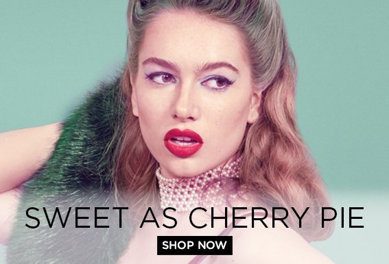 Sweet as Cherry Pie is bold and playful