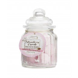 Patisserie de Bain Mini Bath Bombs Strawberry Cupcake