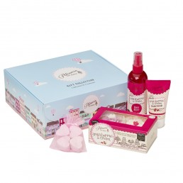Patisserie de Bain Gift Box Cranberries  Cream Small Box