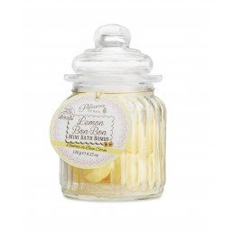 Patisserie de Bain Mini Bath Bombs Lemon Bon-Bon Jar