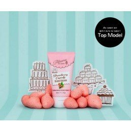 Patisserie de Bain Hand Cream Tube Strawberry Cupcake (50ml)