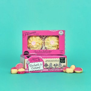 Patisserie De Bain Bath Tartlette Duo Rhubarb  Custard (2x 45g)