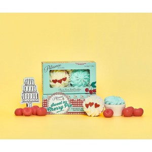 Patisserie de Bain Bath Tartlettes Sweet as Cherry Pie (2pc)