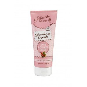 Patisserie de Bain Shower Creme Strawberry Cupcake (200ml)