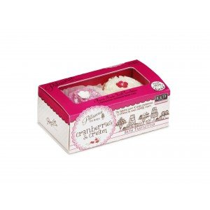 Patisserie de Bain  Bath Tarlettes Cranberries & Cream (1pc)
